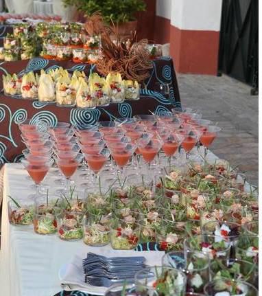 cocteles hacienda bodas sevilla
