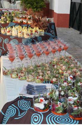 aperitivos frios hacienda bodas sevilla