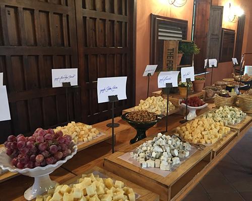 buffet quesos hacienda bodas sevilla