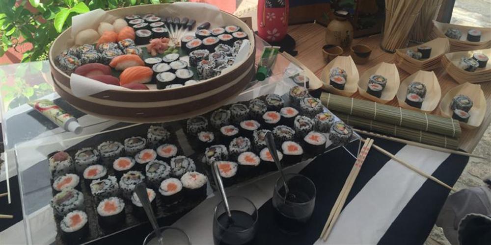 buffet sushi hacienda bodas sevilla