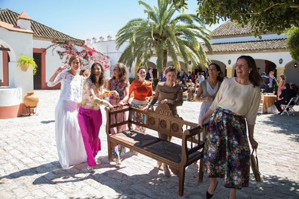 felicidad novia hacienda bodas sevilla