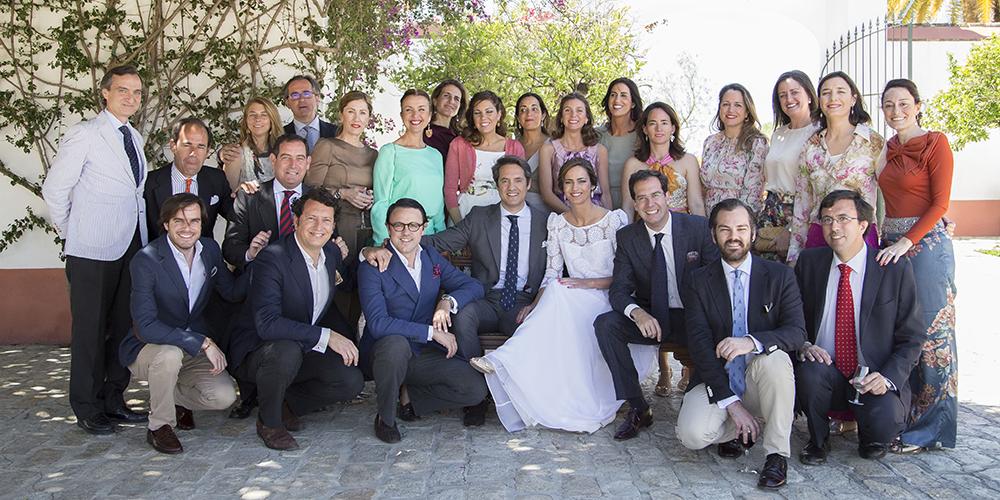 foto grupo hacienda bodas sevilla
