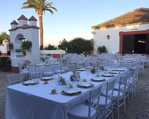 mesa hacienda bodas sevilla