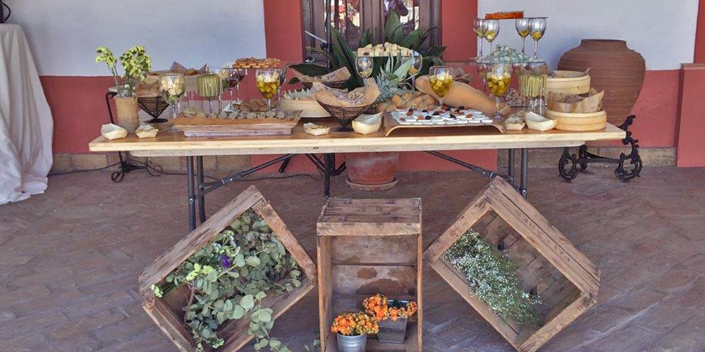 mesa catering hacienda bodas sevilla