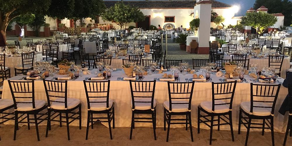 organizacion banquete hacienda bodas sevilla