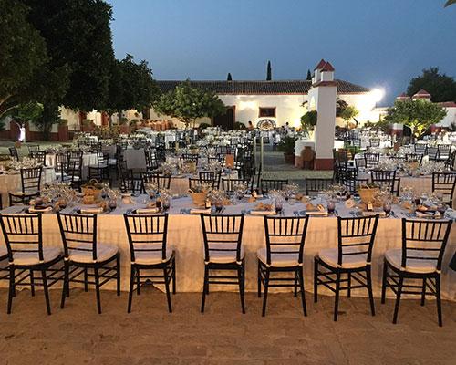 boda noche hacienda sevilla