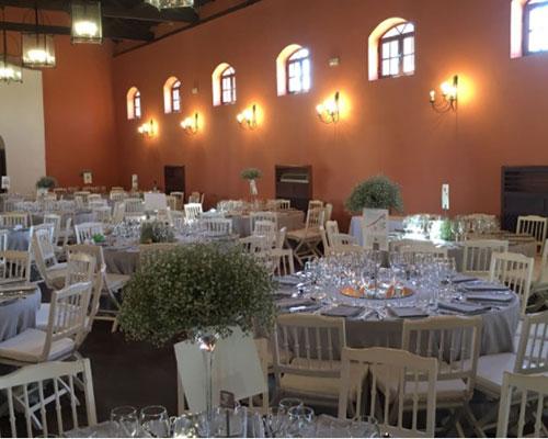 mesas boda hacienda sevilla