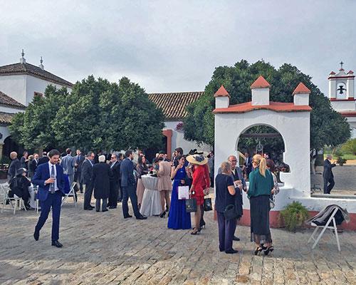 aperitivo boda hacienda sevilla