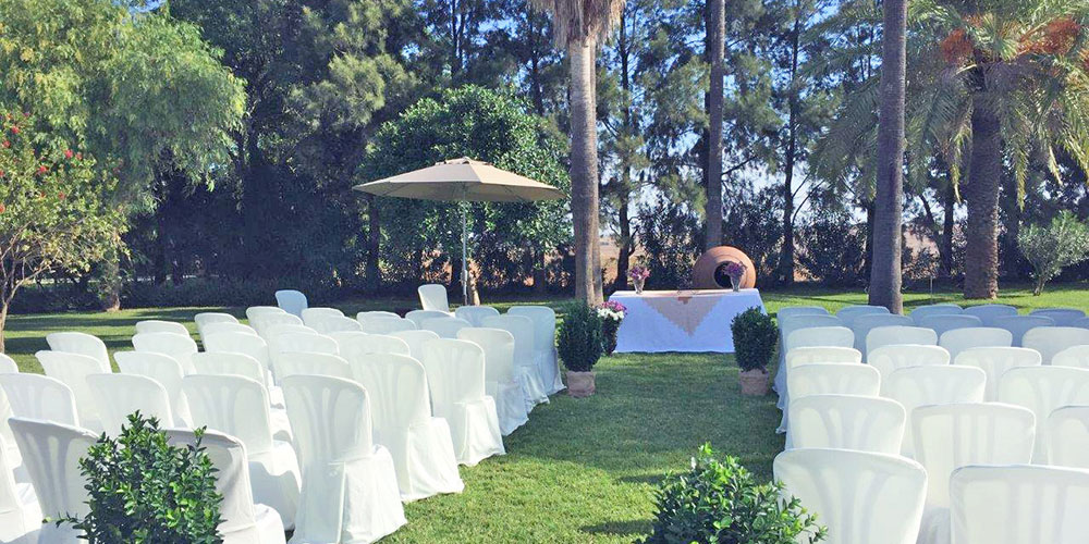 pasillo altar hacienda bodas sevilla